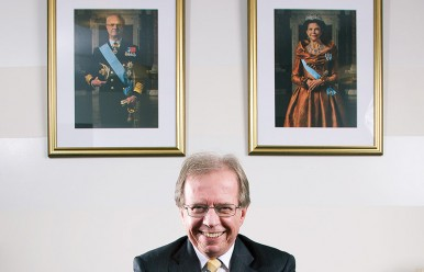 vi Magazine Assignment – portrait of the Swedish ambassador to South Korea, Lars Danielsson